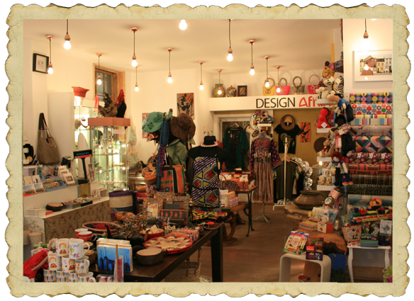 Diverse Gifts in Brixton, London SW9, stocks my greeting cards