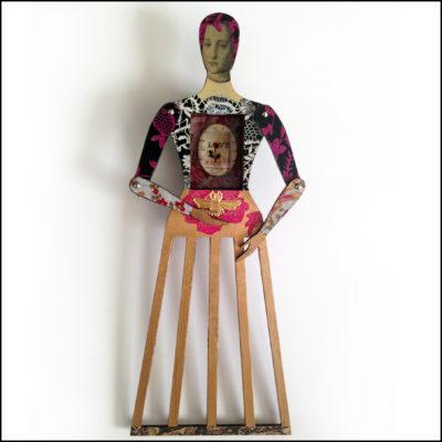 art doll - Abigail by Gabriela Szulman