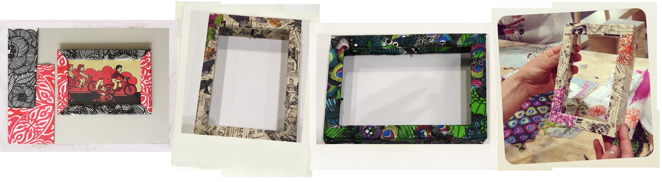 Introduction to decoupage gabriela szulman art decoupage photo frames jeuxipadfo Image collections