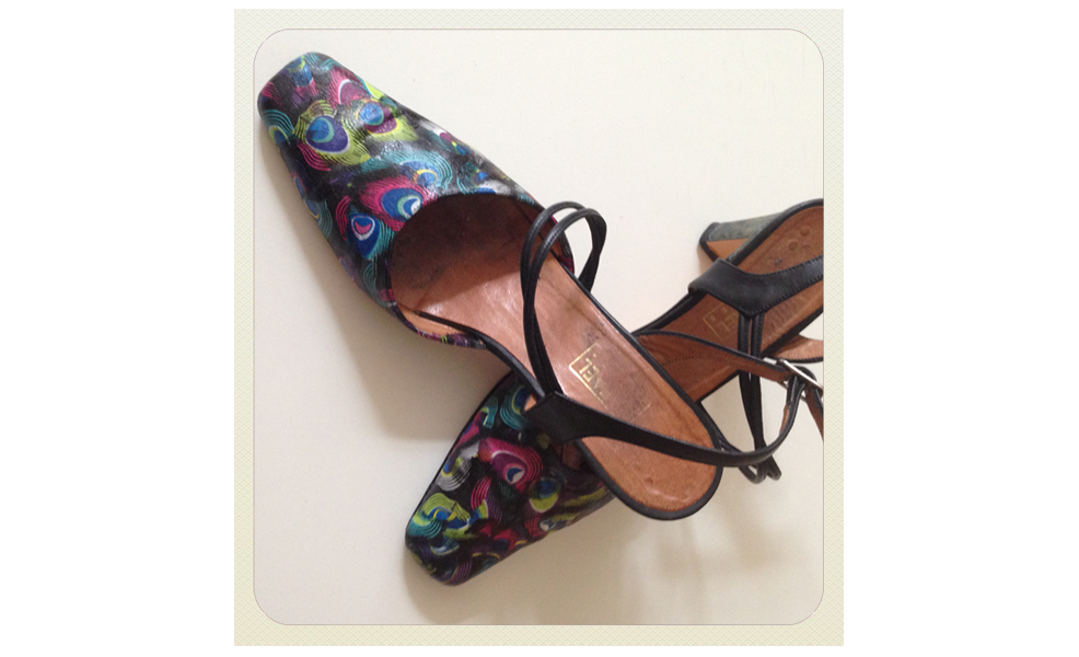 Shoe decoupage: an advanced tutorial
