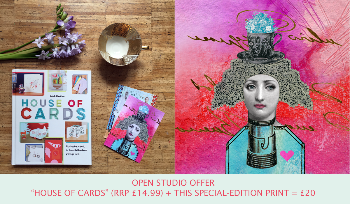 Camberwell open studios house of cards book and print offer