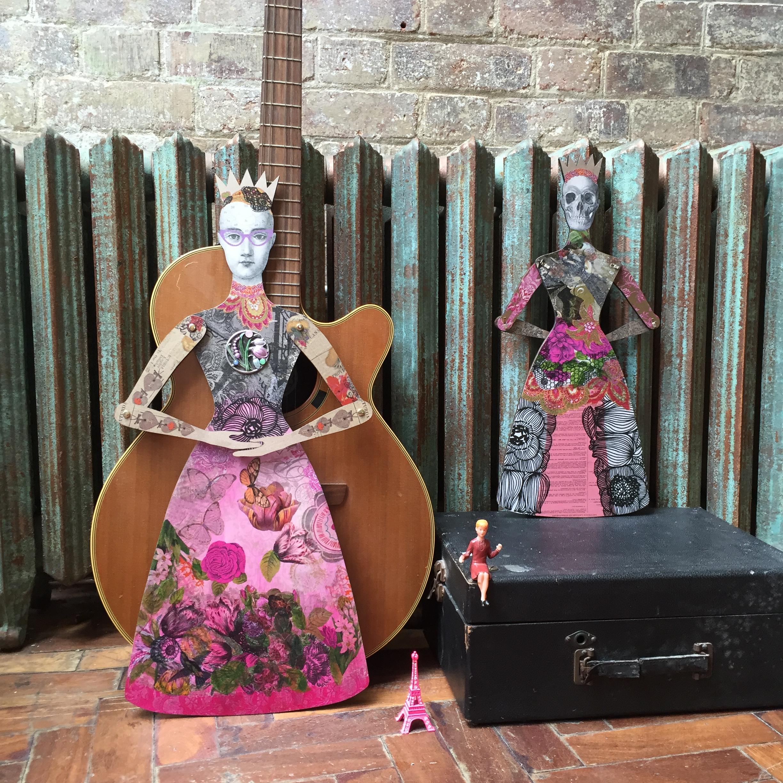 March meet the maker photography: art dolls