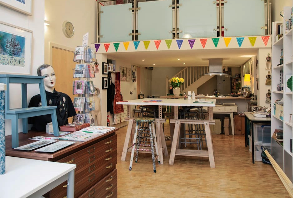 March meet the maker workspace: view of the studio