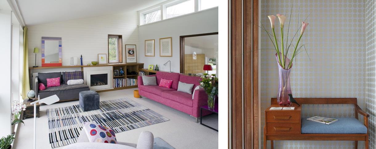Views of Sarah hamilton's house at 49 Peckarmans Wood, Dulwich Open House 2018