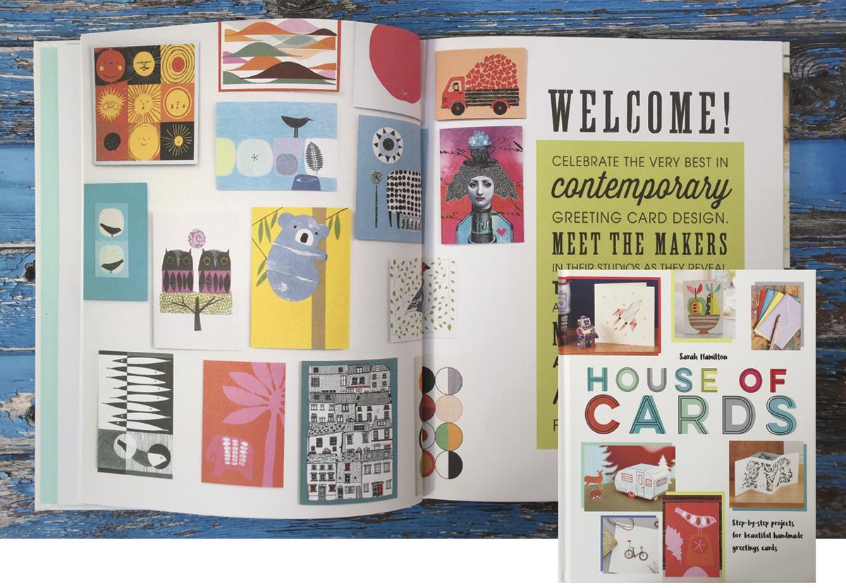 "Sarah Hamilton's book ""house of cards"" at 49 Peckarmans Wood, Dulwich Open House 2018"